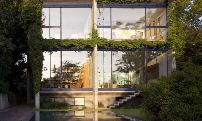 Concrete Glass House Gsarch