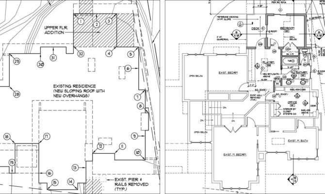 Construction Drawing Plan Drawings