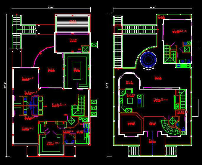 Construction Project Make Plan Drawing Architecture Plans 41786