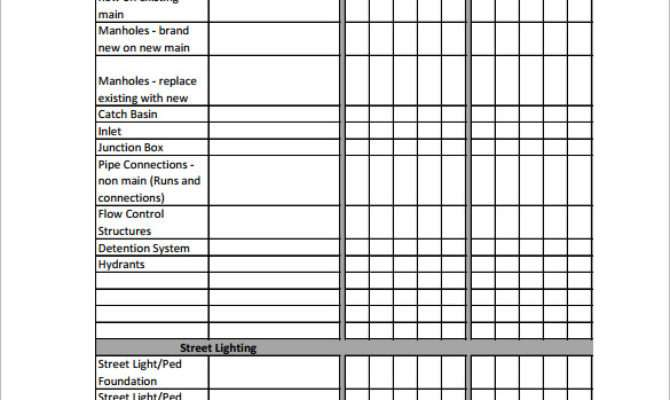 Construction Schedule Template Cyberuse