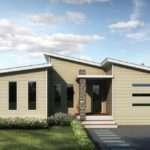 Contempo Split Skillion Roof Modern Contemporary Home Swanbuild