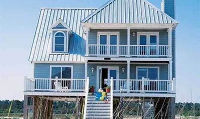 Contemporary Coastal House Plans