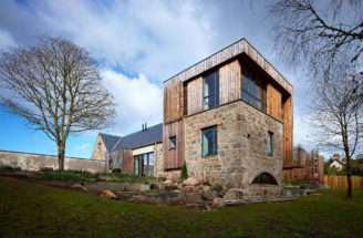 Contemporary Country House Dingwall Scotland Incorporates
