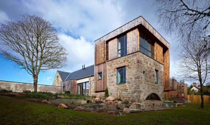 Contemporary Country House Dingwall Scotland Incorporates