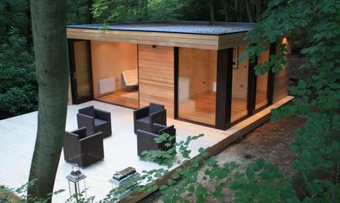 Contemporary Garden Studios Modern Eco Friendly Design Home