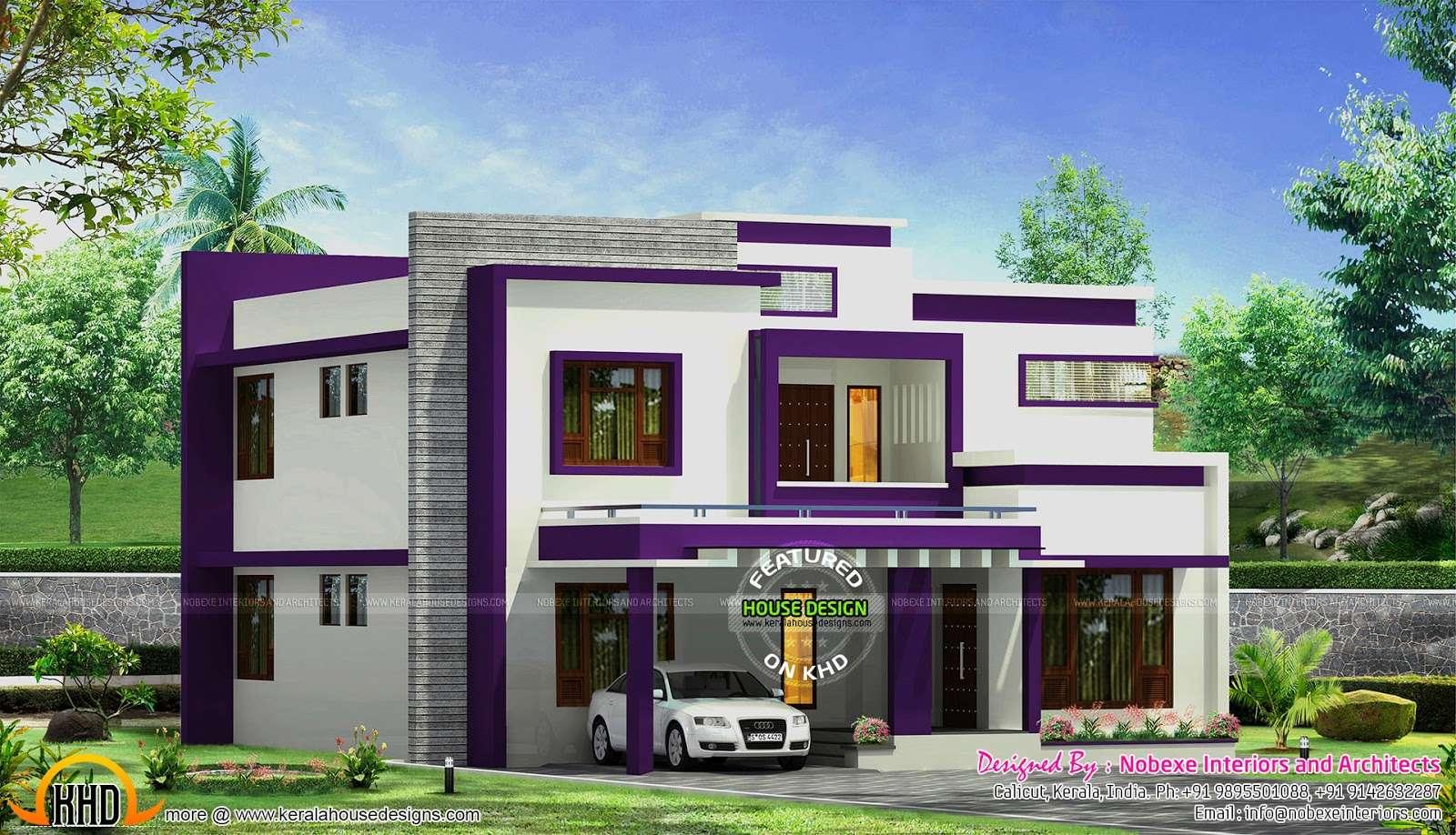 Contemporary Home Design Nobexe Interiors Kerala