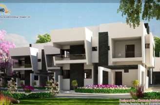 Contemporary Home Elevations Kerala Design Floor Plans
