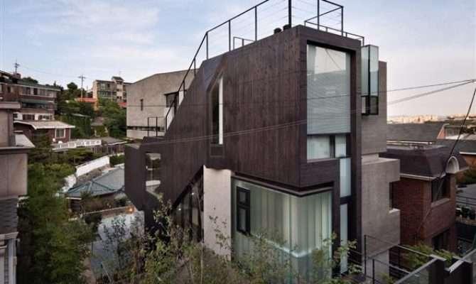 Contemporary House Bachelor Pad South Korea