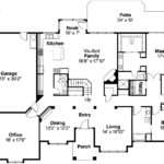 Contemporary House Plan Ainsley Floor