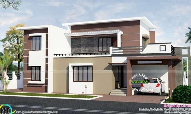 Contemporary House Plan Kerala Home Design