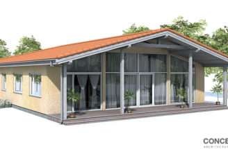 Contemporary House Plans Small Affordable Plan
