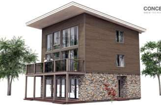 Contemporary House Plans Small Modern Plan