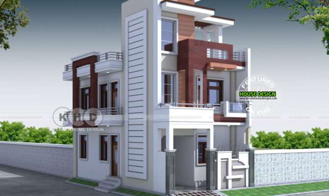 Contemporary Indian Home Design Kerala