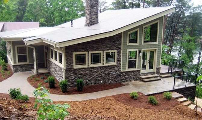 Contemporary Meets Craftsman New House Plan Home Plans Blog