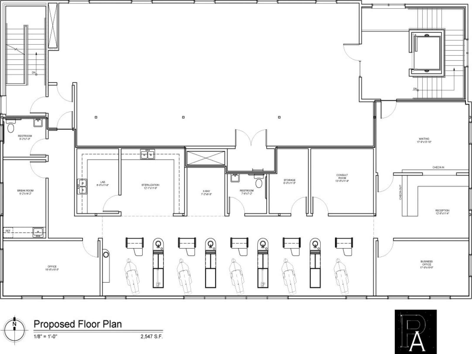 Contemporary Office Dental Floor Plan Vashionhouse