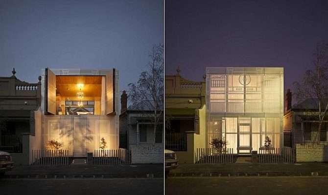 Contemporary Perforated House Kavellaris Urban Design