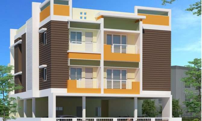 Contemporary Two Story Office Building Elevations Joy