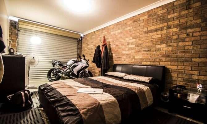 Converted Garage Bedroom Interior Ideas Pinterest