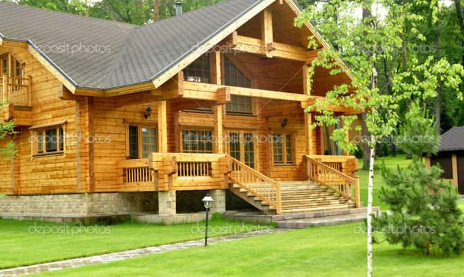 Cool Beautiful Wooden Houses Ideas