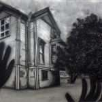 Cool Haunted House Drawings Drawing