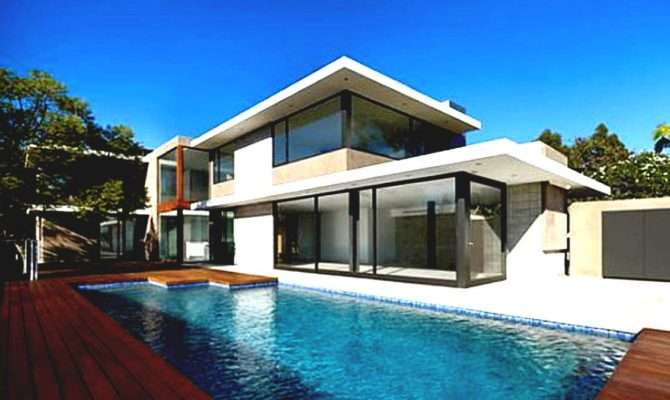 Cool House Plans Pools Home Design Style