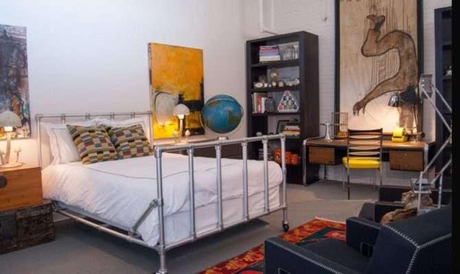 Cool Industrial Metal Pipe Frame Beds Furniture