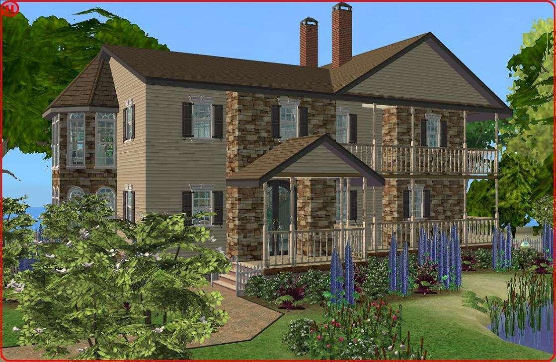 Cool Sim Houses Ideas Home Plans Blueprints