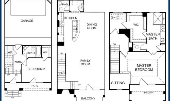 Cool Two Story Condo Floor Plans Building