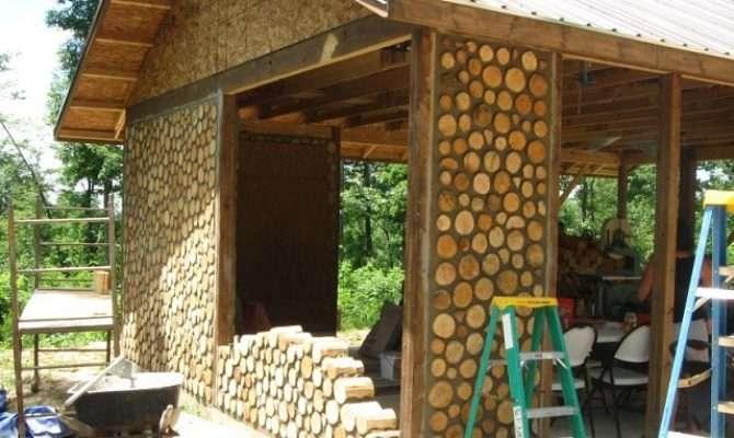 Cordwood Log Cabins Home Design Garden Architecture
