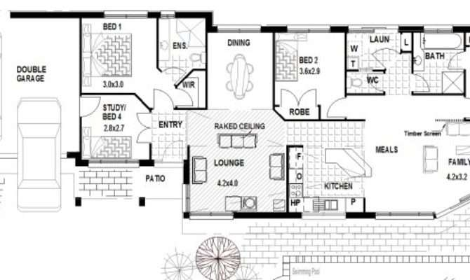 Corner Block Home Designs House Narrow Lot