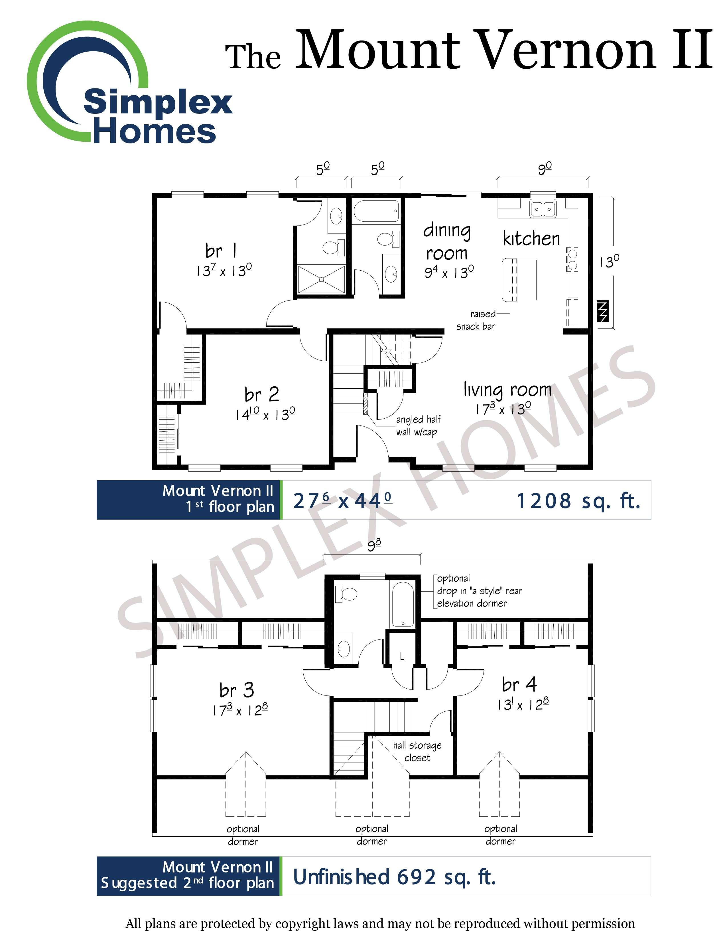 Cornerstone Mount Vernon Cape Modular Home