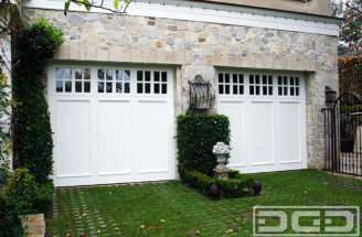 Cottage Custom Architectural Garage Door Dynamic