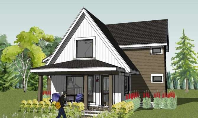Cottage Design Check Out Exterior Video Small Modern