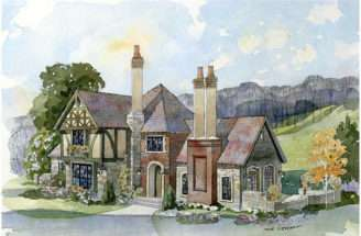Cottage English Country Home Romantic
