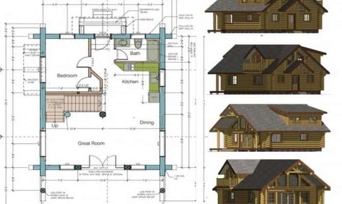 Cottage Floor Plans Designs