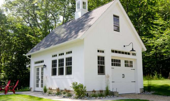 Cottage Garage Doors Home Design Ideas Remodel