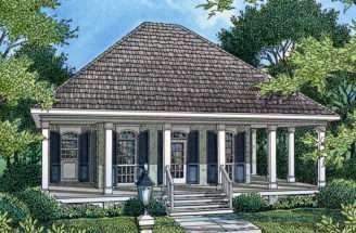 Cottage Home Plan House Plans More Nautical