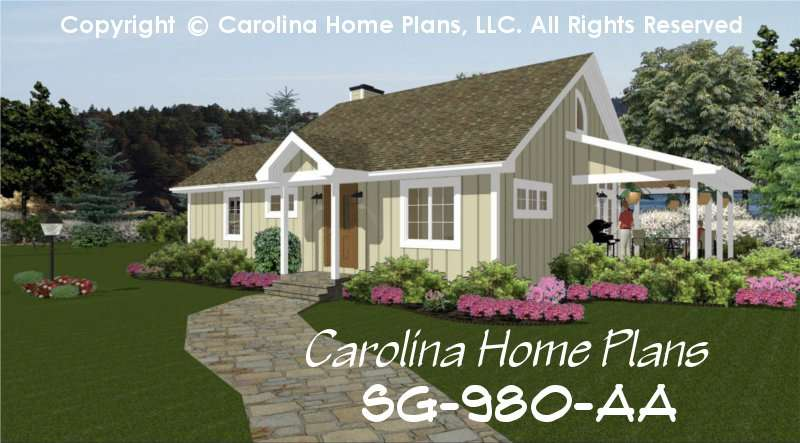 Cottage House Plan Affordable Small Home