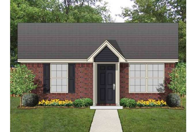 Cottage House Plan Cute Guest Square Feet Bedroom