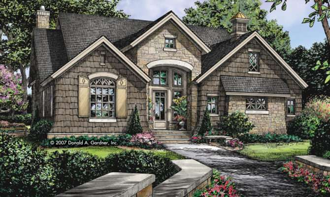 Cottage House Plans Authentic English Plan Tiny Stone