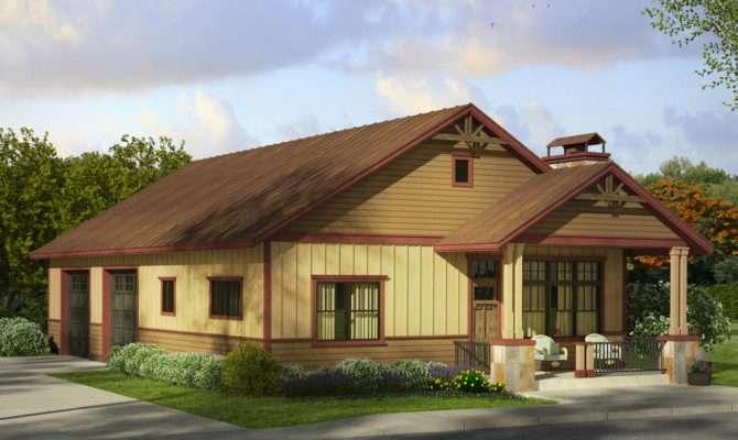 Cottage House Plans Garage Living Associated Designs