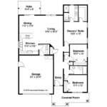 Cottage House Plans Preston Associated Designs