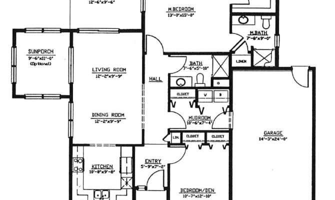 Cottage Iii Floor Plan