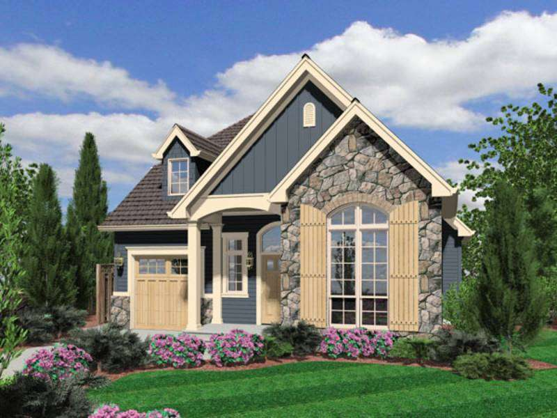 Cottage Plans Awesome Home Design Stone Wall Beautiful