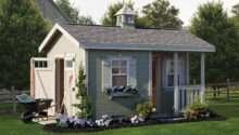 Cottage Shed Amish Yard