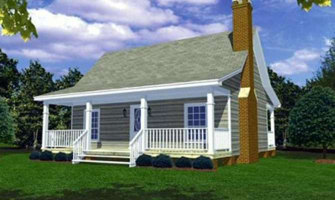Cottage Style House Plan Beds Baths Exterior
