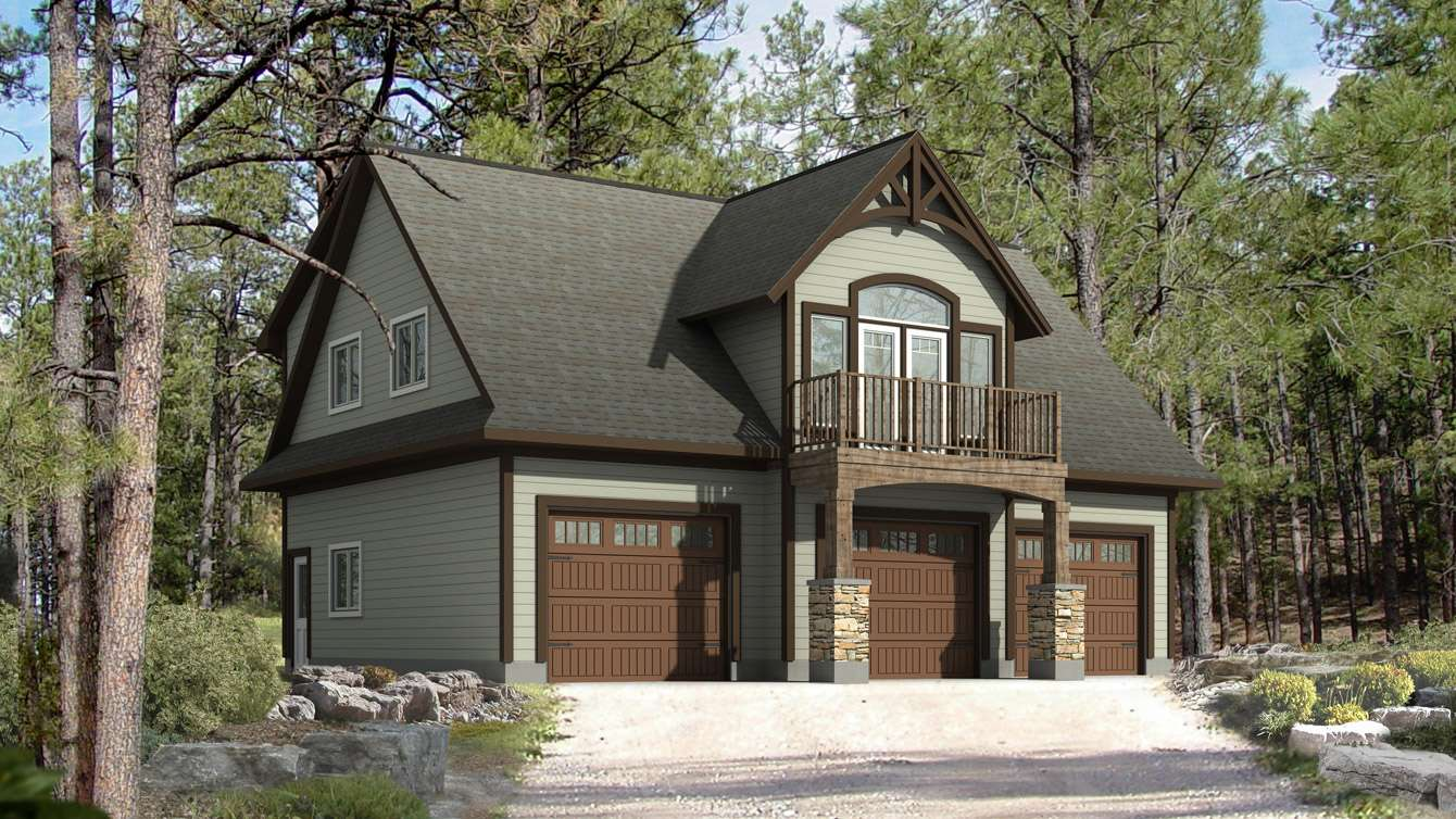 Cottage Style House Plans Garage