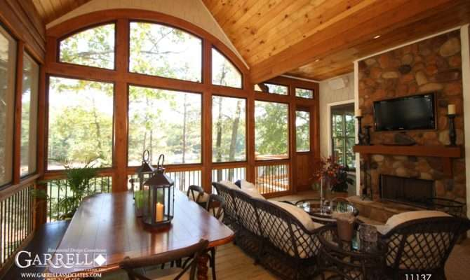 Cottage Style House Plans Screened Porch