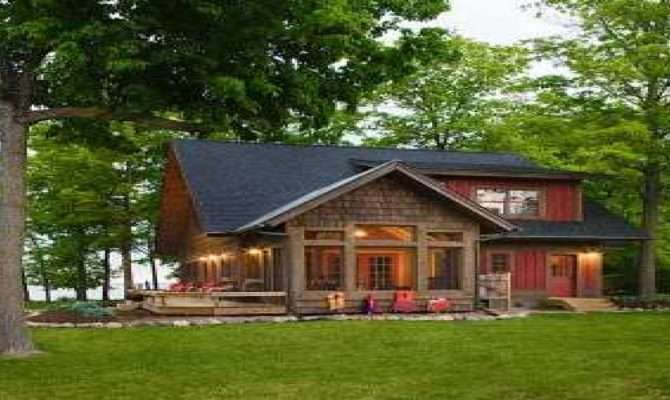 Cottage Style Lake House Plans Home Deco