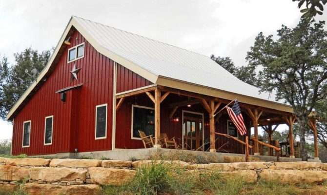 Country Barn Home Kit Open Porch Metal